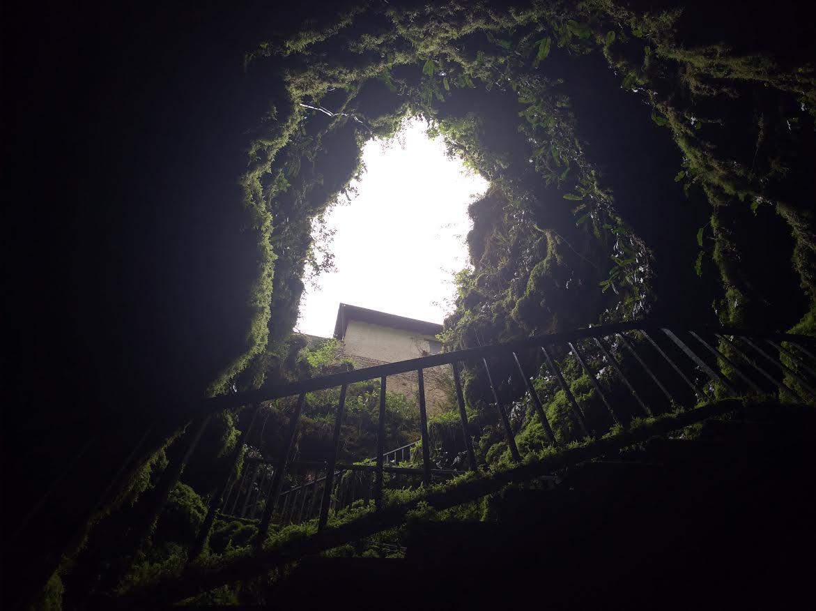 Chasse aux oeufs au gouffre de la Fage le 16 Avril 2017.