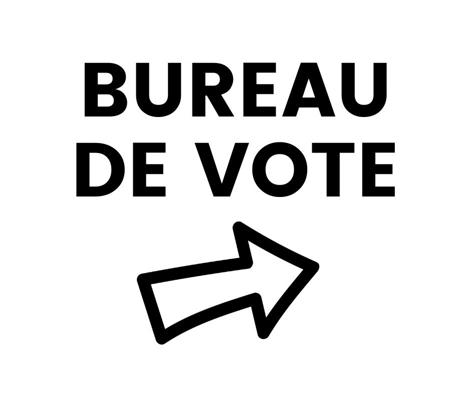 Elections - Déplacement du bureau de vote